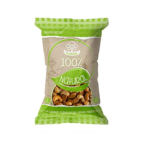 El Nogal Frutos Secos Anacardo Crudo - 100% Naturales Bolsa 130 g