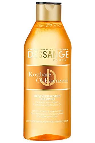 Dessange Haarpflege Kostbare Öl-Essenzen Shampoo, für sehr trockenes, überstrapaziertes Haar, 2er Pack (2 x 250 ml)