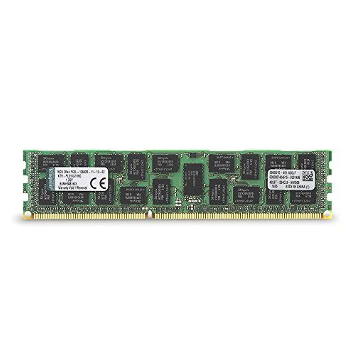 どれテメリティ十分ではないKingston Technology 16GB 1600MHz DDR3L Reg ECC Low Voltage DIMM Memory for HP/Compaq Desktop KTH-PL316LV/16G [並行輸入品]