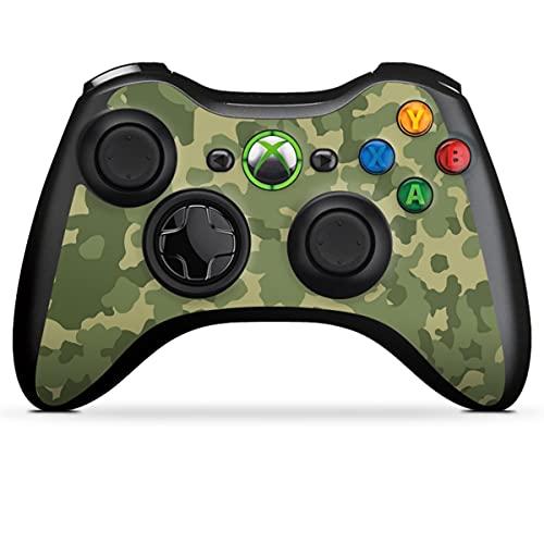 DeinDesign Skin kompatibel mit Microsoft Xbox 360 Controller Folie Sticker Bundeswehr Muster Camouflage