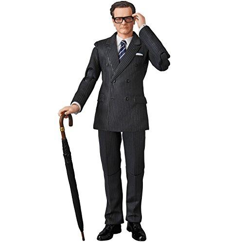 Unbekannt Kingsman The Secret Service MAF EX Action Figure Harry Galahad Hart 16 cm