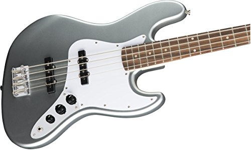 Squier by Fender Affinity Series Jazz Bass - Laurel Fingerboard - Slick Silver