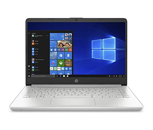 "HP - PC 14s-fq0001sl Notebook, AMD Ryzen 5 3450U, RAM 8 GB, SSD 512 GB, Grafica AMD Radeon, Windows 10 Home, Schermo 14"" FHD, USB-C, HDMI, Webcam TrueVision 720p, HP Fast Charge, Argento"