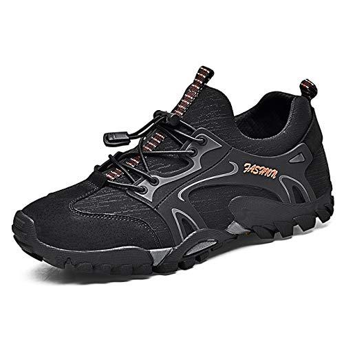 Zapatillas de Montaña para Hombres, Zapatos de Senderismo Calzado de Trekking Escalada...