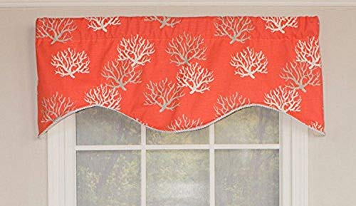 RLF HOME Coral Sea Cornice Window Dressings Valance