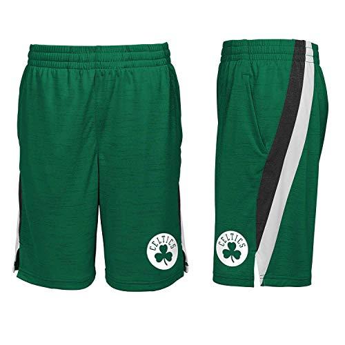 Boston Celtics Youth NBA Peak Performance Shorts (Youth Large) Green