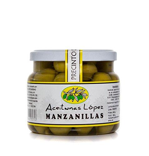 Aceitunas Manzanillas Sabor Natural - Envase PET 550 g. Peso Neto