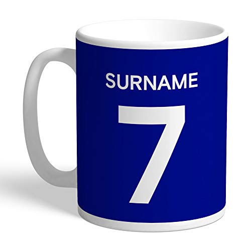 Official Personalised Chelsea FC Player Shirt Mug