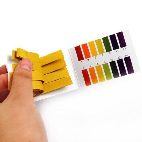 Litmus pH Test Strips, Universal Application Full Ph 1-14 Test Indicator Litmus...