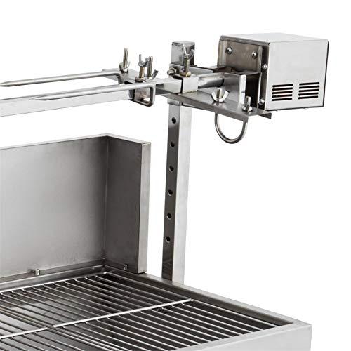 41fy5iiqo+L - DHYBDZ Grill, Grill, Elektrospießröster Grillgrill Raucher 132 Pfund Lager Grill Schweinespießröster Lammgrill mit Elektromotorgrill