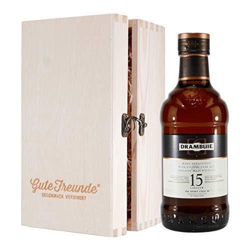 Drambuie Malt Whisky Liqueur 15 Jahre mit Geschenk-HK
