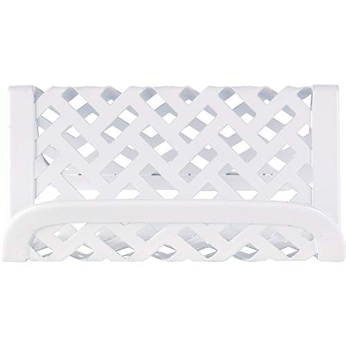 Staples 1116759 White Zigzag Business Card Holder