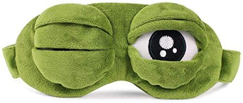 STORE 2508 Frog Eye Sleep Mask (Green)
