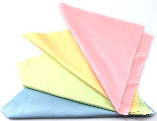 spe microfiber Phone Screen 5x5 Inches Cleaning Cloth - Pack of 25