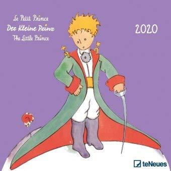 Der kleine Prinz - Broschurkalender - Kalender 2020 - Antoine de Saint-Exupéry - teNeues-Wandkalender mit zauberhaften Illustrationen und Platz für Eintragungen - 30 cm x 30 cm (offen 30 cm x 60 cm)