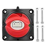 Sezionatore batteria, 12V 600A Isolatore alimentazione batteria Sezionatore principale tagliato Interruttore a due livelli per camper