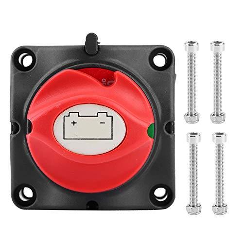 Duokon Interruptor aislador, 100% nuevo, 12V 600A, aislador de energía de batería, desconexión principal, interruptor de corte de dos niveles