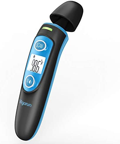 Vigorun Forehead and Ear Thermometer for Fever Digital Infrared Temporal Thermometer with Fever product image