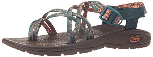 Chaco womens ZVOLV X2 Sport Sandal, INTERRUPTED PINE, 9 M US