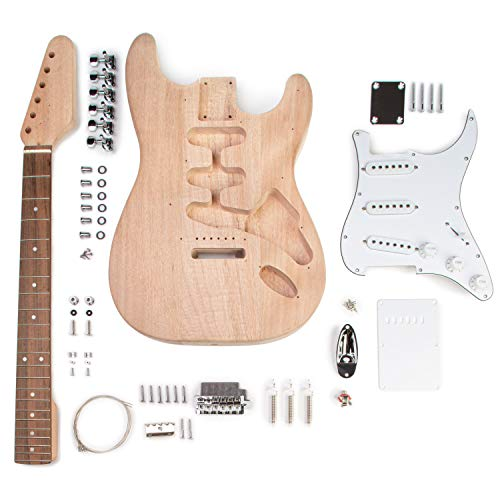 StewMac Build Your Own S-Style Electric Guitar Kit (Right Handed)