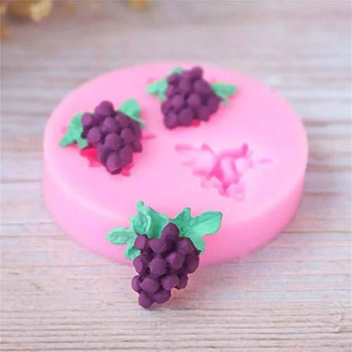 Shulcom Druiven rozijnen fruit Blad gewassen Vorm natuur boerderij 3D siliconen schimmel fondant schimmel cake decoreren tools chocolade gumpaste schimmel