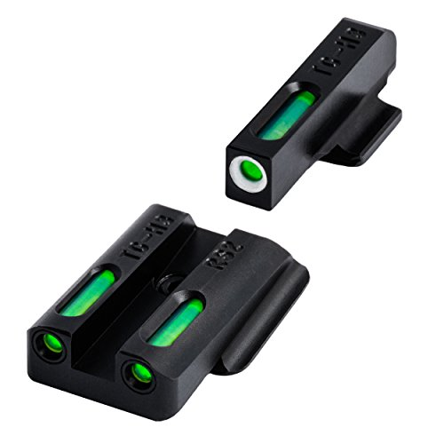 TRUGLO TG13RS2A Brite-Site TFX Handgun Sight for Ruger LC Set, Black, One Size