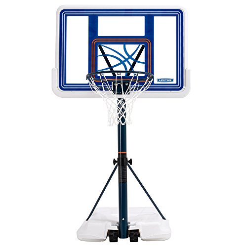 Lifetime 1306 Pool Side Height Adjustable Portable Basketball System,...