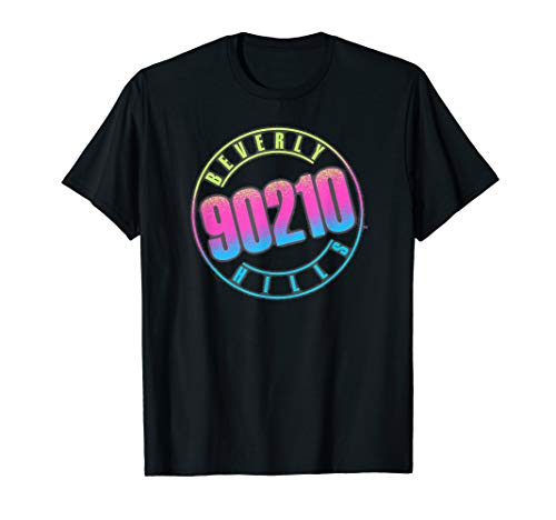Beverly Hills 90210 Colorful Logo T-Shirt