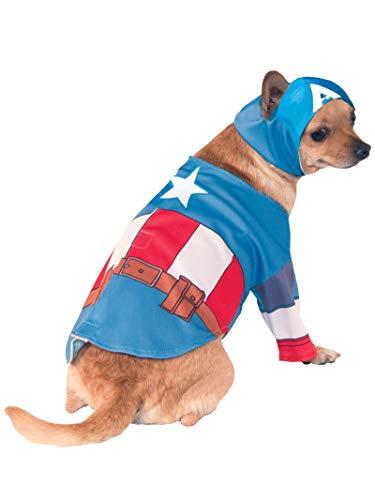 Rubis Officielle Pet Costume pour Chien, Captain America, Grand