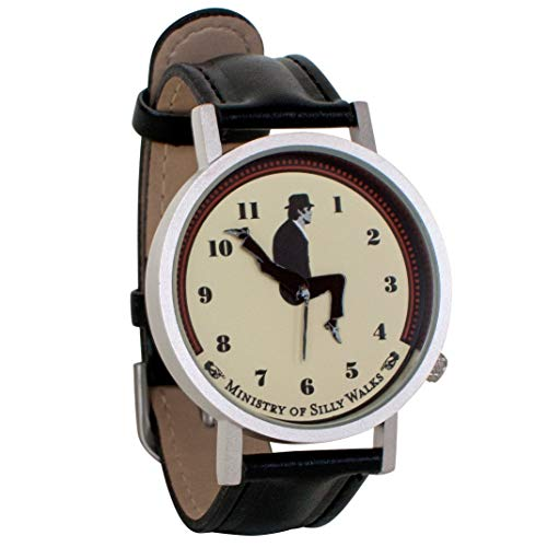 Monty Python Ministry of Silly Walks Unisex Analog Watch