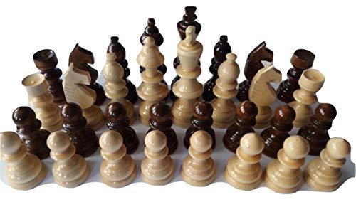 Hecho a mano Nuevos Grande, Enorme, Hermosas husillo Especial para Las Manos Piezas de ajedrez de Madera, el Rey es 11,5 cm