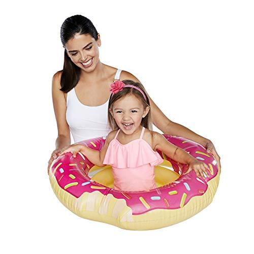Unbekannt Kinder Schwimmring - Donut schwimmender Schwimmring - Wasserspaß Zubehör für Kinder, 1-5 Jahre alt,Donut
