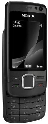 Nokia 6600i Slide Black (MP3, Bluetooth, Opera Mini, Kamera mit 5 MP) Handy