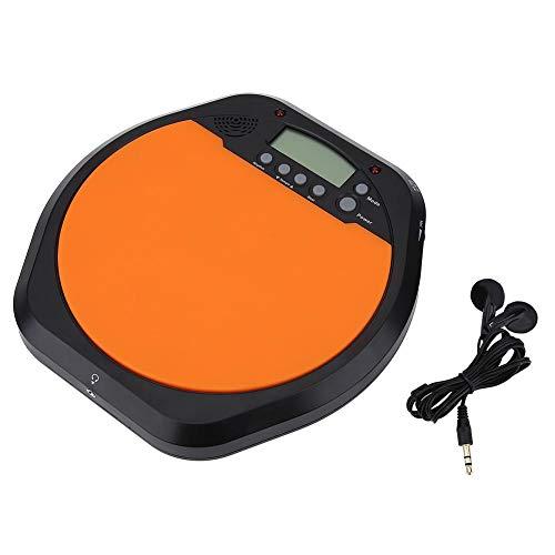 Metrónomo de almohadilla de batería de práctica de entrenamiento de batería electrónica digital con auriculares accesorios de instrumentos musicales para baterista