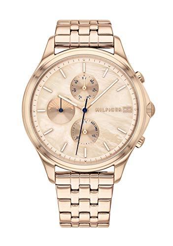 Tommy Hilfiger Multi Dial Quartz horloge voor dames met roestvrij stalen armband, keuze uit 120