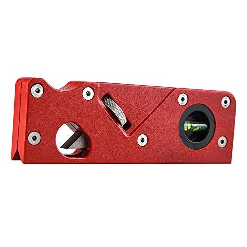 Nobranded Rand Trimmen Fase Ebene Einstellbar Mini Hand Hobel Holz Carpenter Holzhandwerk Werkzeug - Rot