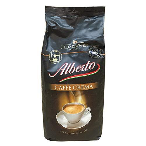 Darboven Alberto Kaffee Crema Bohnen, 1kg, 1er Pack (1 x 1 kg)