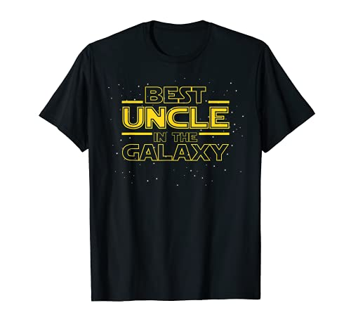 Uncle Shirt Gift for New Uncle, Best Uncle in the Galaxy T-Shirt