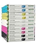 Leitz, Mittelgroße Aufbewahrungs- und Transportbox, Weiß, Mit Deckel, Für A4, Click & Store, 60440001 - 3