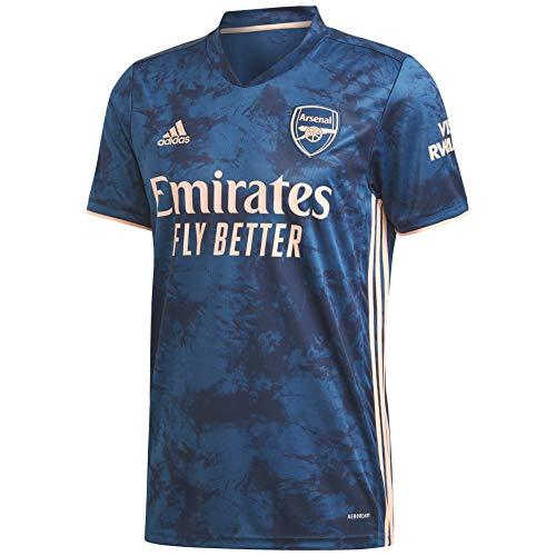 adidas Men's Arsenal FC 3rd Jersey (X-Large) Legend Marine/Light Flash Orange