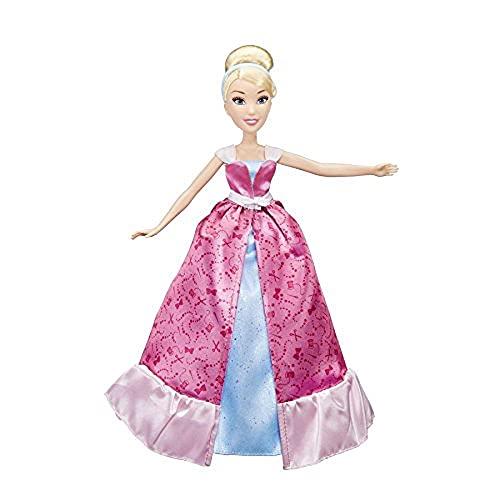 Disney Princess - Muñeca Cenicienta transformación mágica (Hasbro C0544EU4)