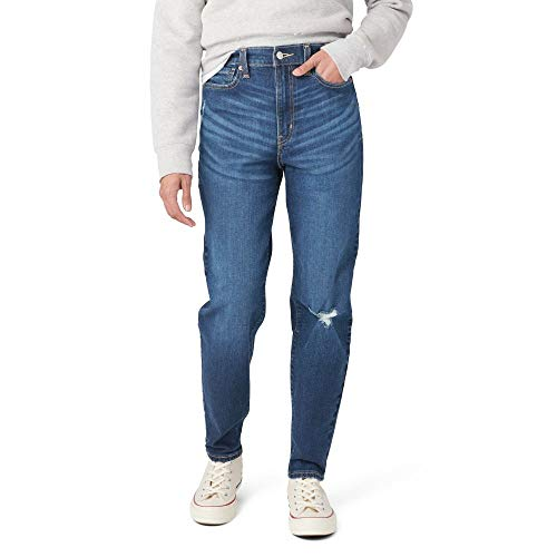 Signature by Levi Strauss & Co. Gold Label Juniors Mom Jeans, The 405, 7