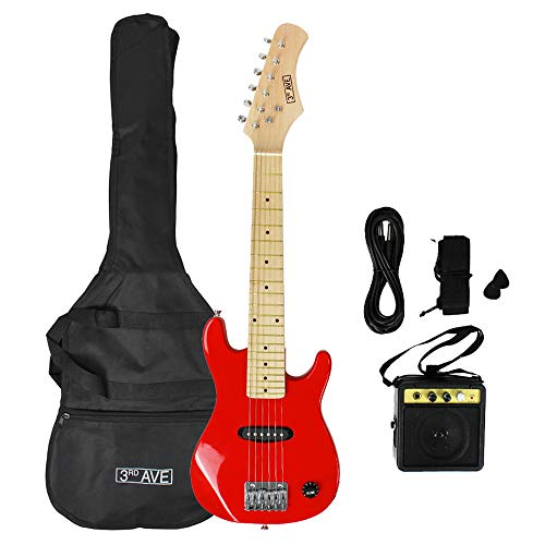 3rd Avenue Junior Electric Guitar Pack - Red