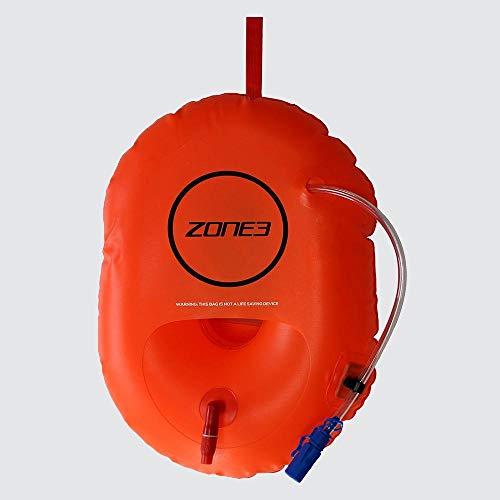 ZONE3 - Bolsa de seguridad para natación, color naranja, talla única