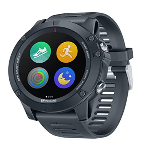 LOVOUO Reloj Inteligente Deportivo con Pantalla táctil a Color de 1.3 (Seguimiento de Actividad física a Prueba de Agua IP67 con podómetro de Monitor de sueño con frecuencia cardíaca)