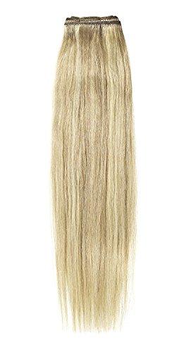 American Dream de qualité Platinum 100% cheveux humains 50,8 cm trame Couleur 18/22 – Blond Cendré/Blond Plage