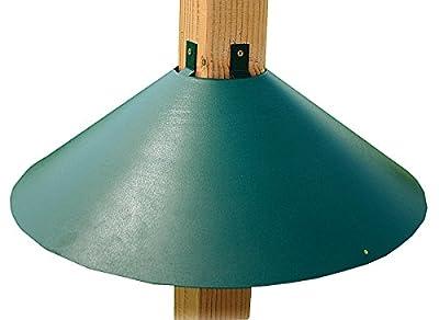 Woodlink Post Mount Squirrel Baffle Model BAF3GR
