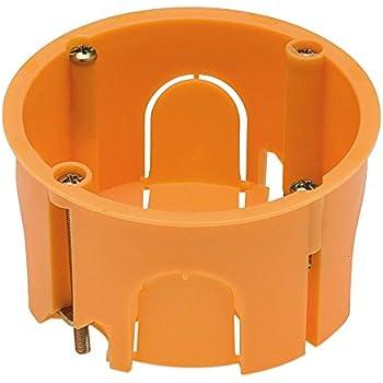 Garra M287149 - Cajetin pladur redondo con enlazable: Amazon.es: Bricolaje y herramientas