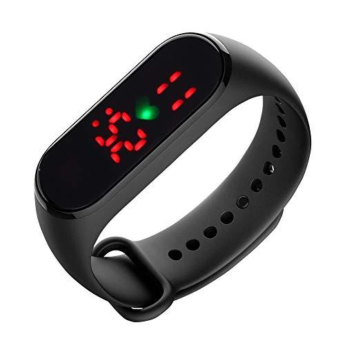 Buhui Misurazione della temperatura, orologio unisex impermeabile per il corpo e il monitoraggio della temperatura del corpo, orologio intelligente per la salute