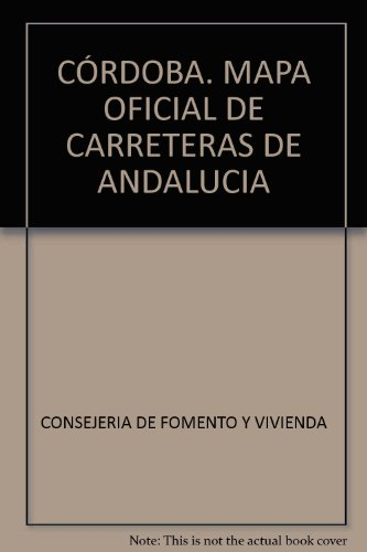 Mapa Oficial De Carreteras De Andalucía, E 1:200.000, Córdoba